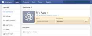 app dashboard
